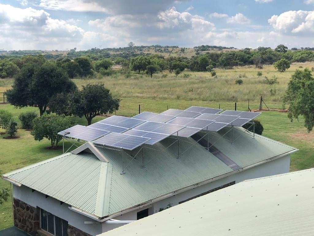 East West Solar Installation
