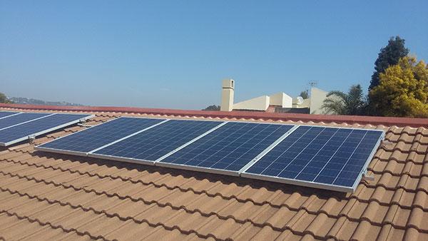 one kilowatt peak solar power